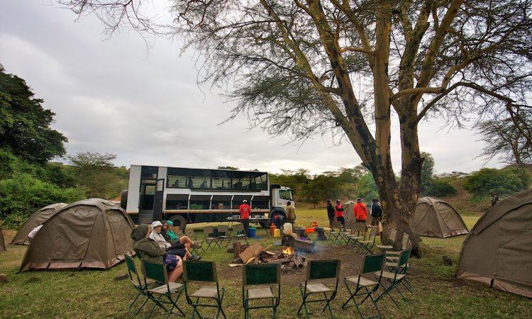 Campsites in Lake Nakuru National Park