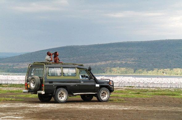 Game Viewing in Lake Nakuru National Park