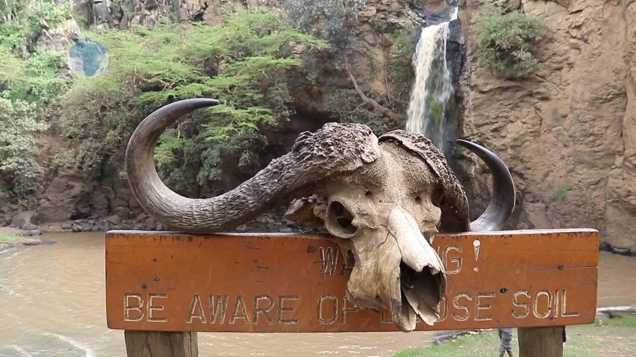 Makalia Falls in Lake Nakuru National Park