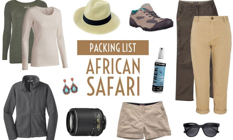 Packing List for a Safari