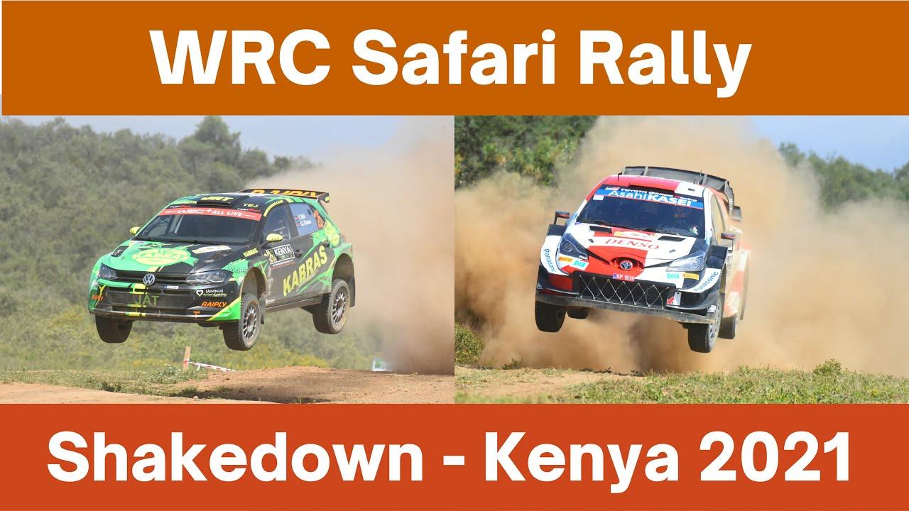 2021 Safari Rally Kicks off
