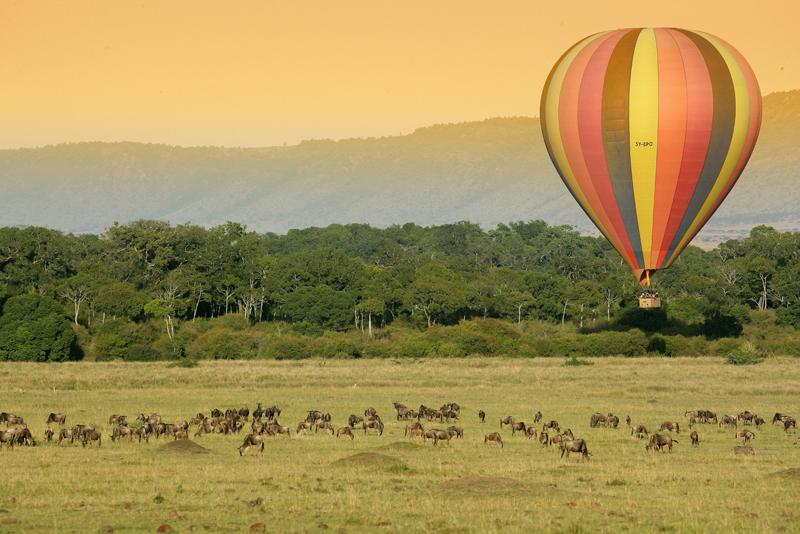 4 days Maasai Mara wildlife and Hot air Balloon Safari